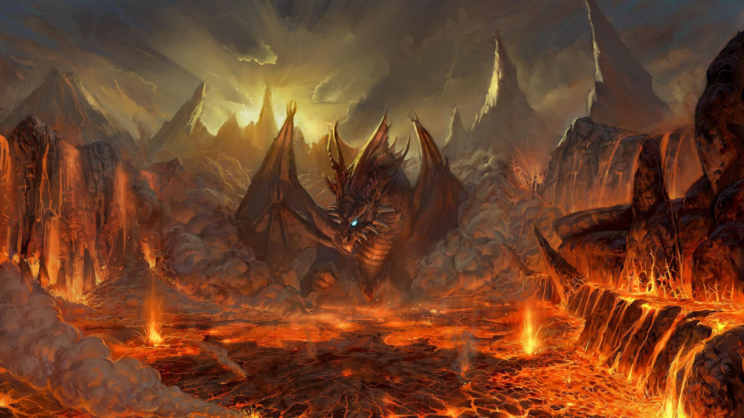 Fire Dragon Wallpapers Desktop Background with High