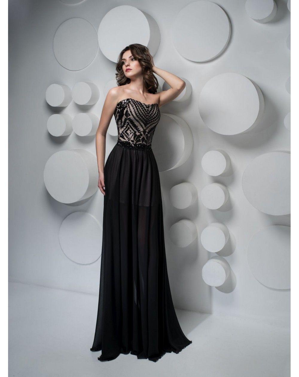 a58bc30ed1a1 Luxusné spoločenské šaty LUCILE Formálne Šaty