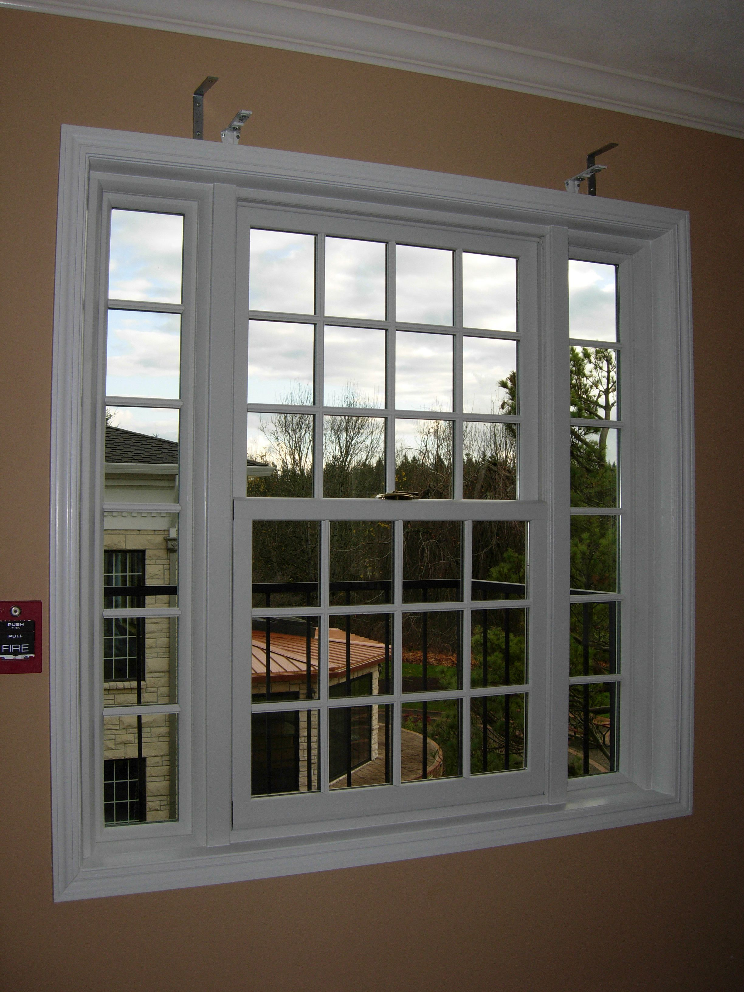 This Is A Double Hung Picture Combination Window With