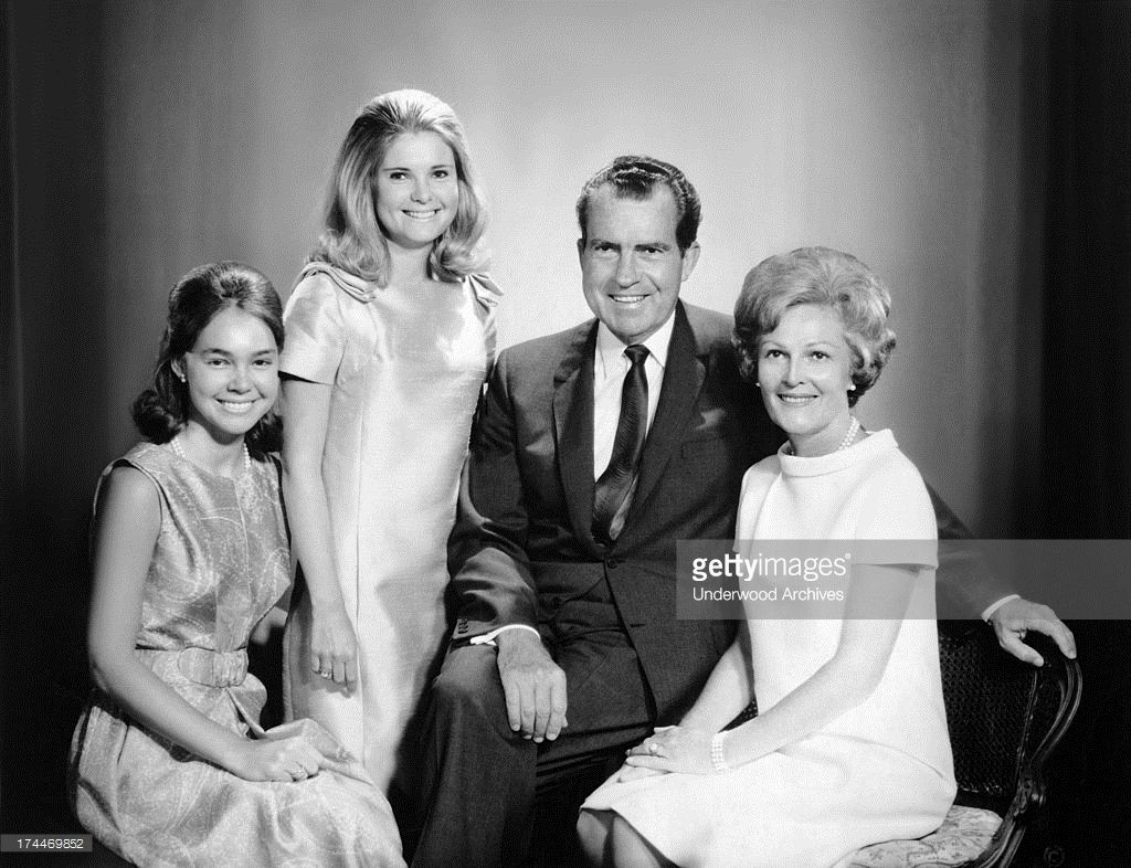 Richard Nixon And Family Vice President