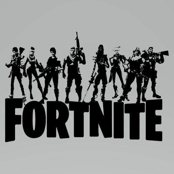 Fortnite svg. File clipart logo