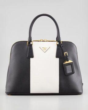 6500621d6c60 Prada Bicolor Saffiano Promenade Bag