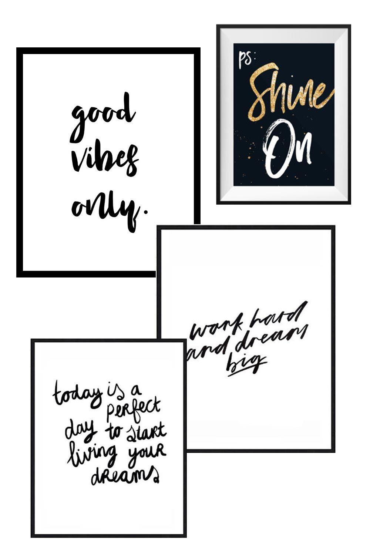 Die schönsten Statement Poster und Lifestyle Prints für dein Zuhause ...