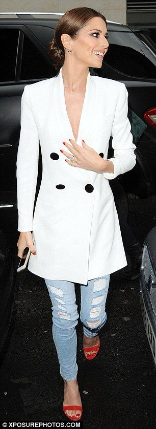 Cheryl Fernandez-Versini wows in 2 striking outfits for X Factor shoot #dailymail