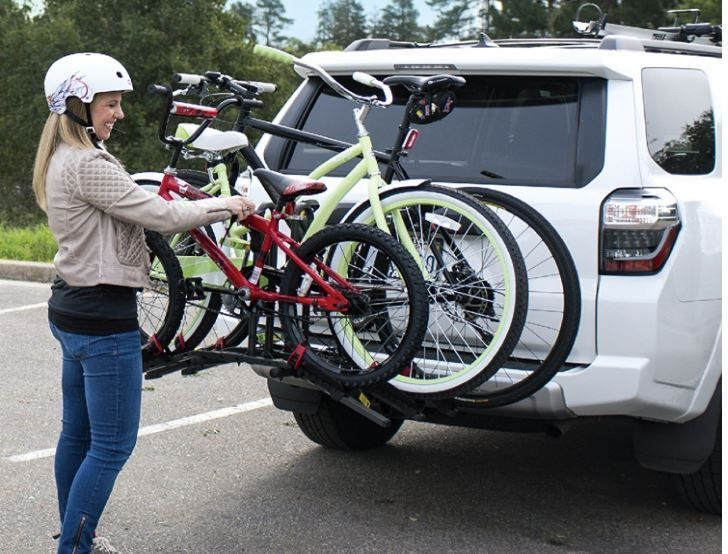 Bike Rack For Car Suv Minivan Rear Folding Bell Right Up Mount