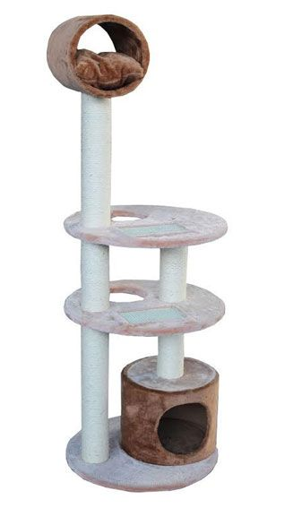 Plush Tower for Active Cats