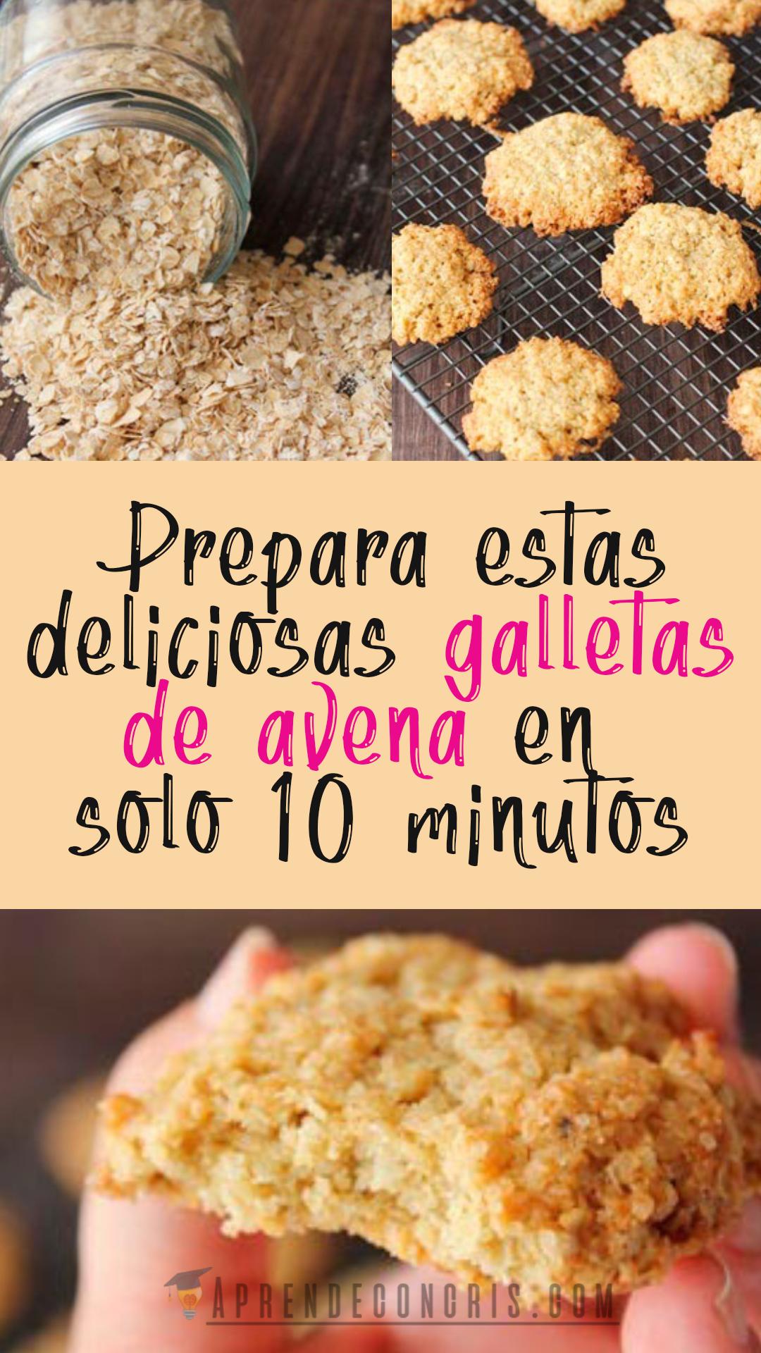 Prepara Estas Deliciosas Galletas En Solo 10 Minutos Comida Vegetariana Recetas Recetas Para Cocinar Recetas Fáciles De Comida