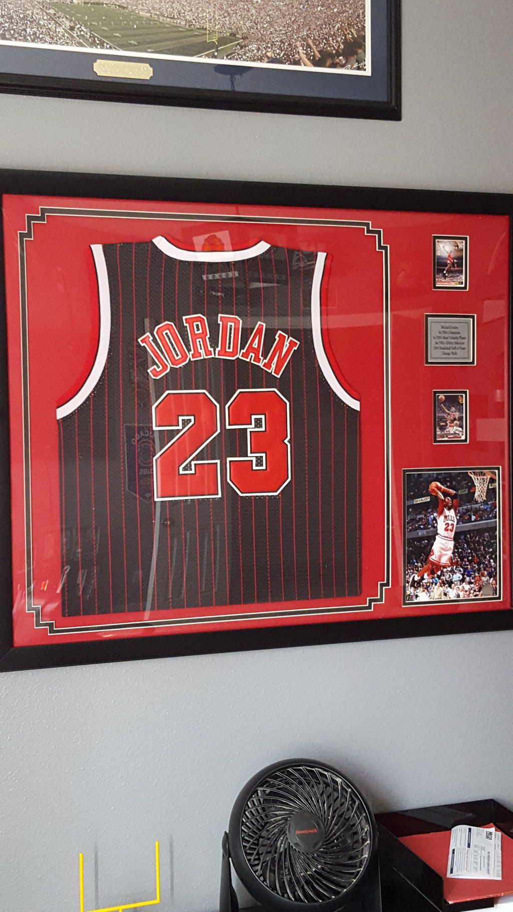 wholesale dealer fac9e f2ddd Framed #Jordan jersey! Still one of our most popular every ...