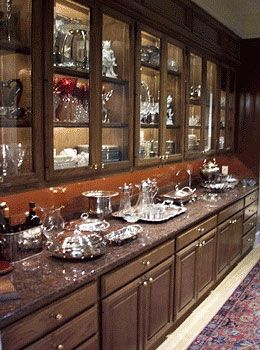 Ordinaire Wall Of Cabinets/built In China Cabinet With Low Voltage Display Lighting.  Phantom Lighting.