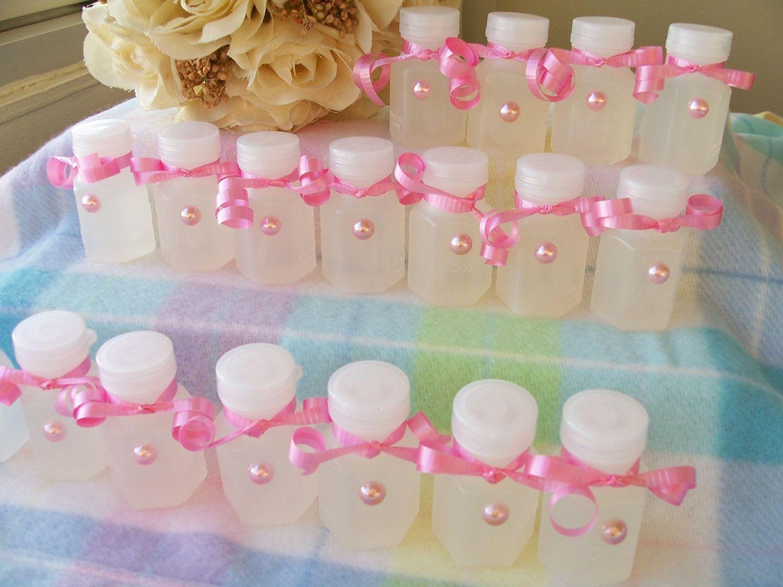 18 Soft pink wedding favour bubbles - wedding bubbles - wedding ...