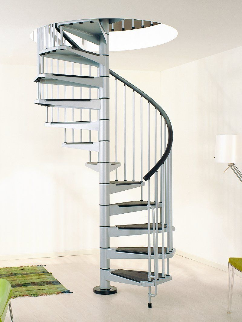 Civik spiral staircase 1400mm metal spiral staircase for Spiral stair design