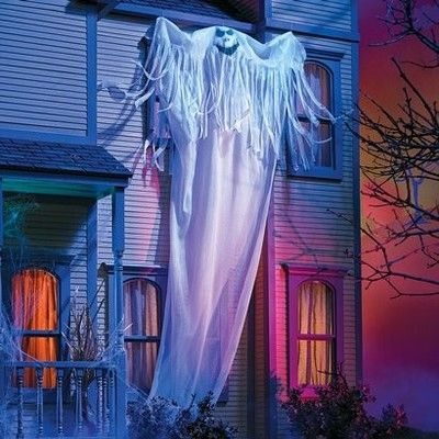 12 18ft Tall Gutter Ghost Halloween Yard Prop Decoration Free Priority Ship Halloween Yard Props Halloween Yard Halloween Ghosts
