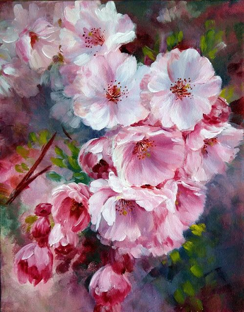 Marianne Broome Beautiful Art Paintings Flower Painting Floral
