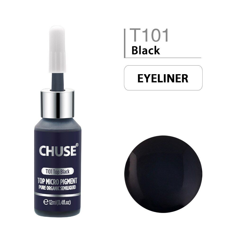 #top #black #t101 #permanent #makeup #ink #eyeliner #tattoo #set #eyebrow #microblading #pigment #professional #12ml #beauty #health