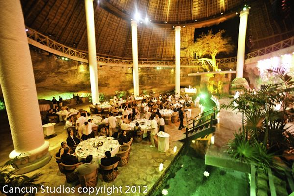 La Isla Xcaret Park Beach Wedding Pics Tropical Beach Wedding Isla Restaurant