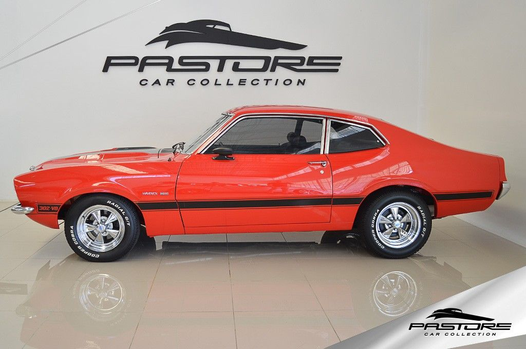 Ford Maverick Gt V8 1974 Pastore Car Collection Ford Maverick