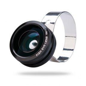 3 In 1 Camera Lens Kit - 180 Degree Fisheye Lens, 0.67x Wide Angle Lens, Macro Lens For Mobile Phones - ChinaBootik #iphonecamera #cameralens #lens