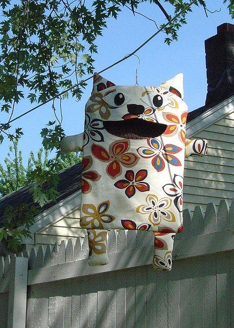 Clothespin Bag - Burt | Nähen, Wäscheklammerbeutel und Nähideen