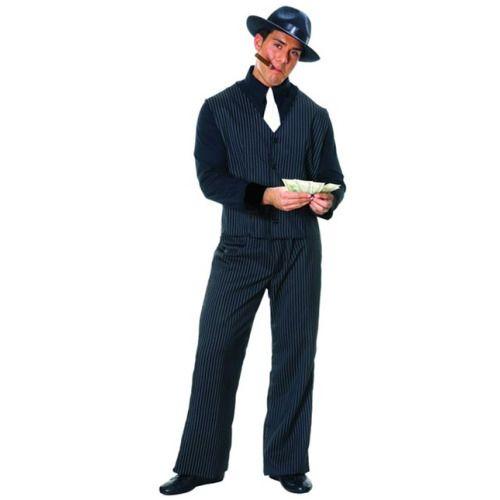 Plus Size Men\u0027s Gangster Costume Gangster costumes, Costumes and - halloween costumes ideas men