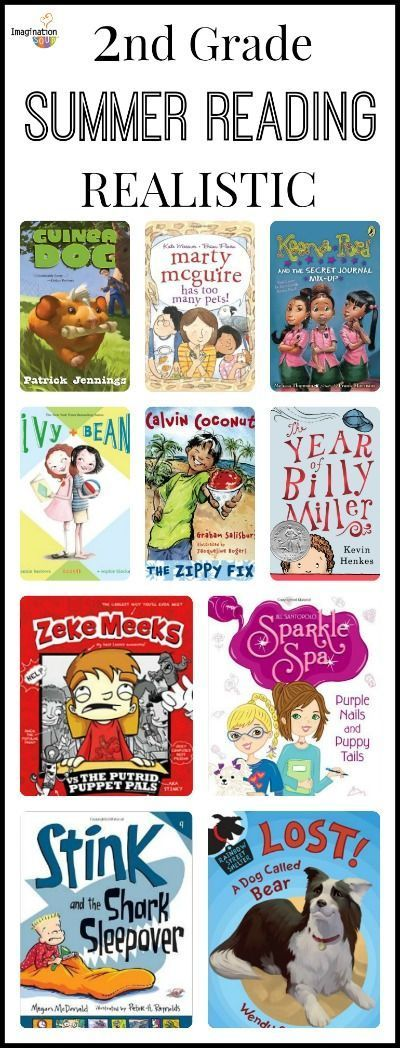 Second Grade Summer Reading List With Printable Book List Chapter