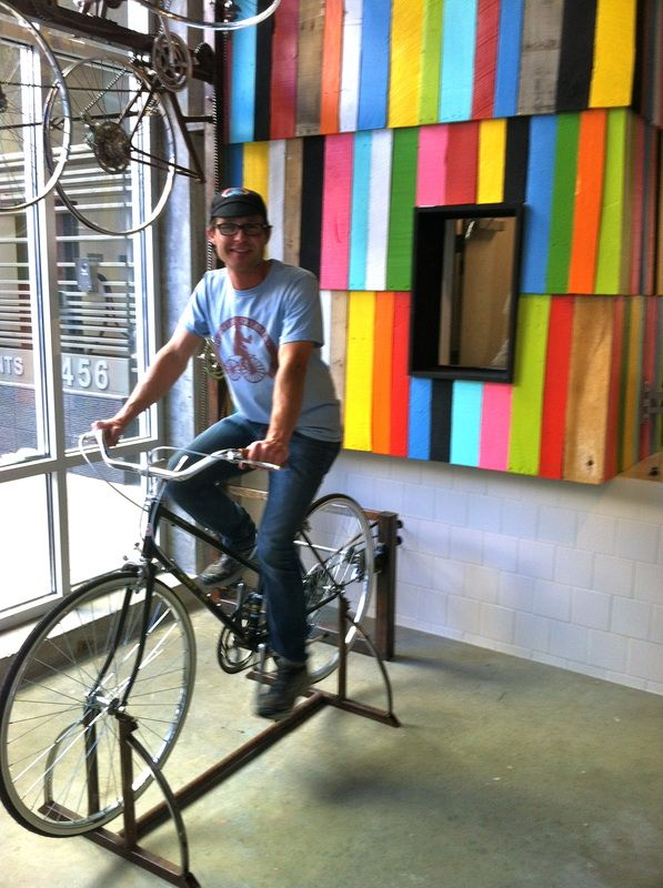 earn from a more light-hearted example: the Peddler's Creamery ice-cream shop in Los Angeles opened its doors in April 2013, and powers its churner by asking customers to peddle an in-store bicycle. GUILT-FREE indulgence indeed!