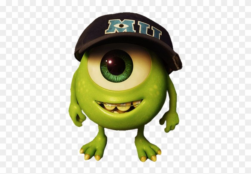 Find Hd Mike Wazowski Png Monsters Inc Little Mike Transparent Png To Search And Download More Free Transparent Png Images Desenhos Descarga
