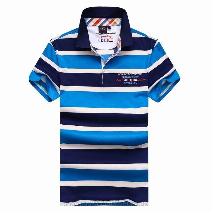 paul shark bright striped polo shirts short sleeved collar up navy rh pinterest com Famous Brand Logos of Clothes Famous Brand Logos of Clothes