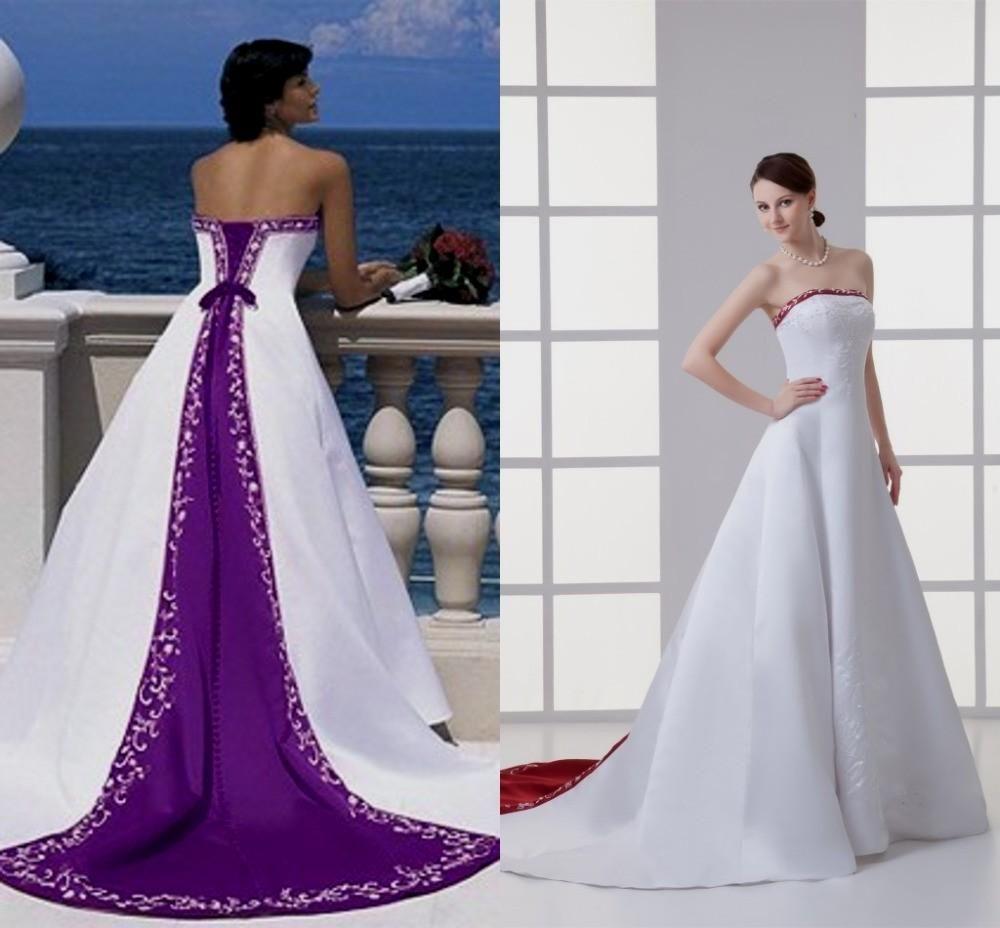 Online Buy Wholesale Purple White Wedding Dress From China Purple Wedding Dresses From China Purple Wedding Gown Elegant Flower Girl Dress [ 928 x 1000 Pixel ]