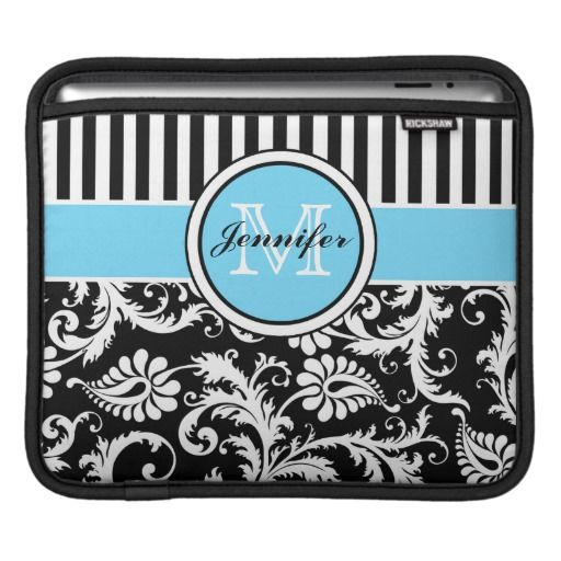 @@@Karri Best price          Monogram Black, White, Blue Striped Floral Damask Sleeve For iPads           Monogram Black, White, Blue Striped Floral Damask Sleeve For iPads Yes I can say you are on right site we just collected best shopping store that haveHow to          Monogram Black, White, Bl...Cleck Hot Deals >>> http://www.zazzle.com/monogram_black_white_blue_striped_floral_damask_ipad_sleeve-205255978985667955?rf=238627982471231924&zbar=1&tc=terrest
