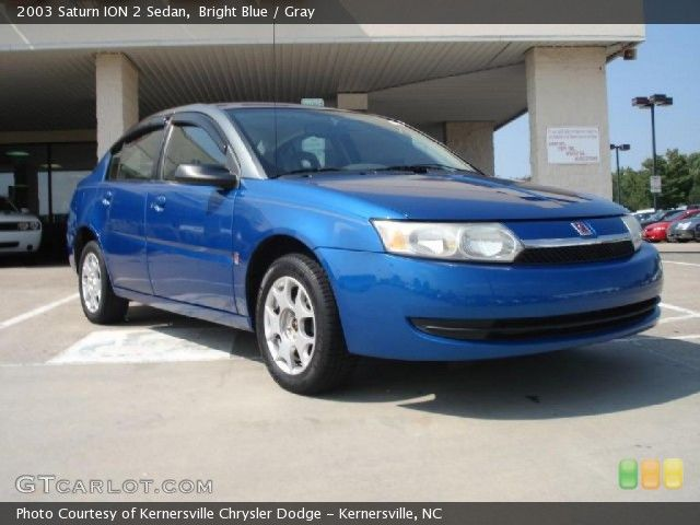 Bright Blue 2003 Saturn Ion 2 Mine Is 2004 But Much The Same