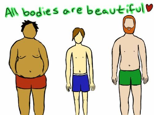 I frequently see this message on body positive boards for girls, but it is true ... -  I frequently see this message on body positive boards for girls, but it is true for men, too!!  - #boards #Body #bodyimageart #bodypositivitydrawings #frequently #girls #message #positive #true