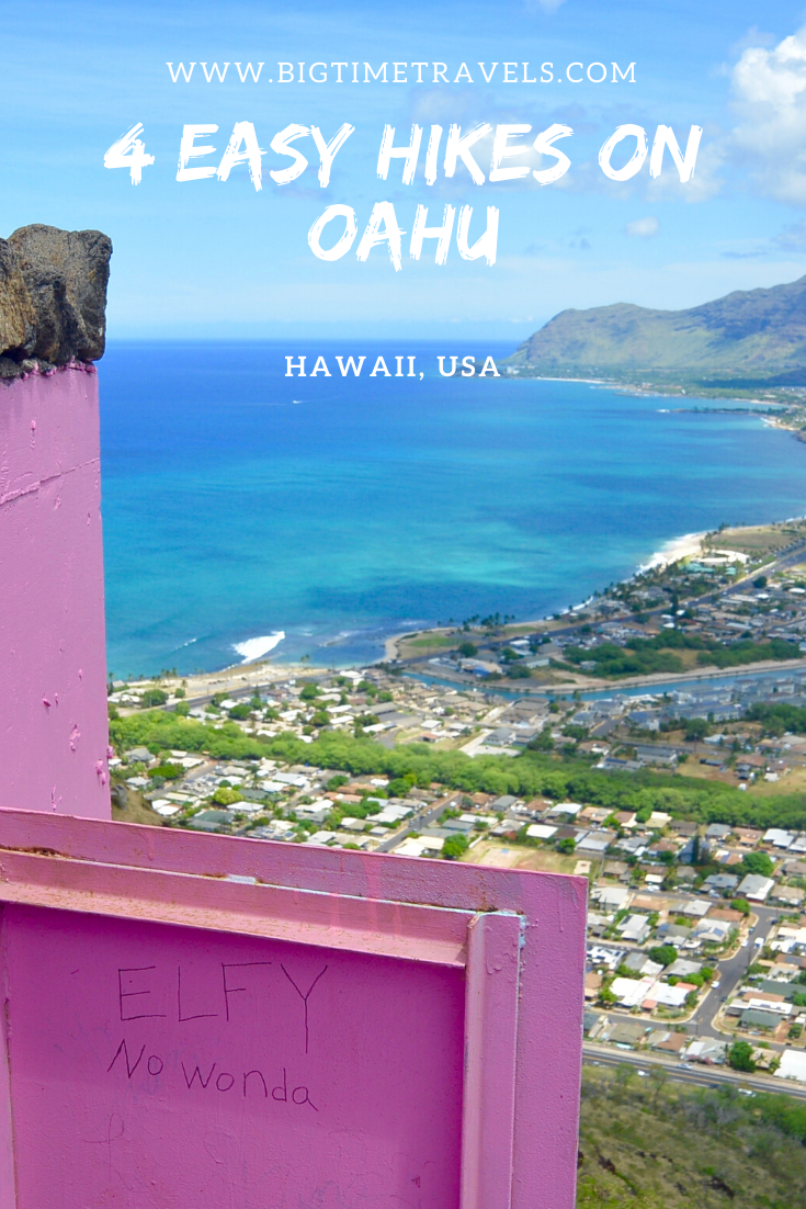 Easy Hikes on Oahu #usatravel