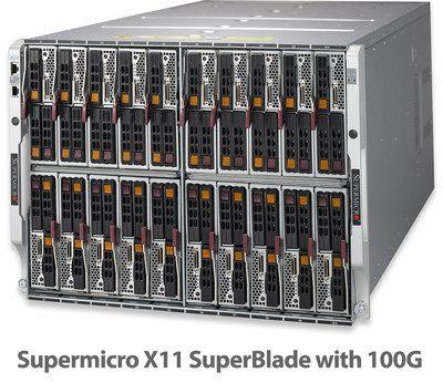 El nuevo servidor X11 SuperBlade de Supermicro hace gala de