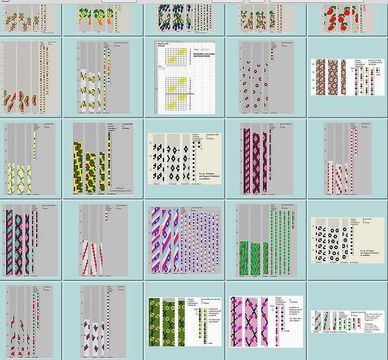 Schlauchketten Hakeln Musterbibliothek Hakeln Perlen Armbander Perlenketten Hakeln Perlenkette Muster