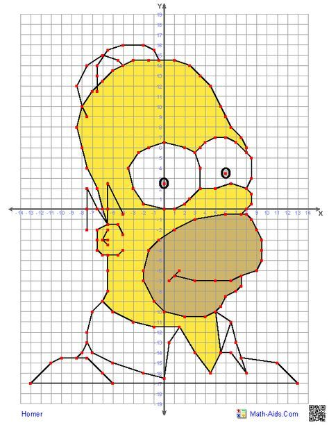 Four Quadrant Graphing Worksheets With Characters The Kids Will Know Coordinate Graphing Coordinate Graphing Mystery Picture Character Worksheets Math aids graph worksheets answers