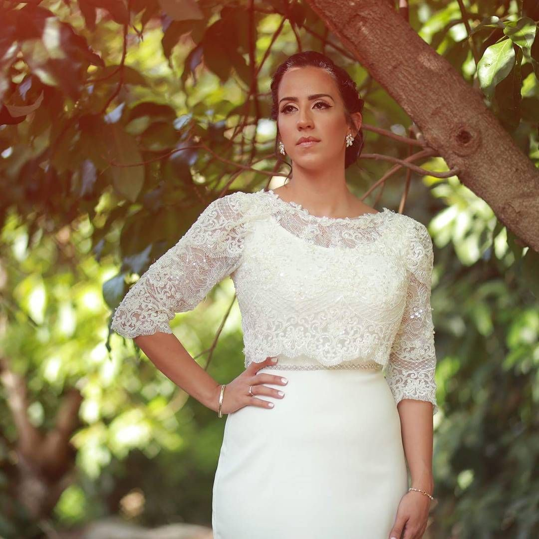 Redneck wedding dress  This lace wedding gown has a modest feel You can get