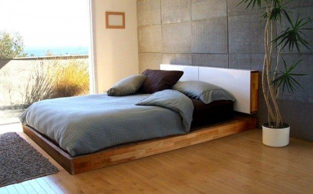 Möbel Selber Bauen Diy Bett Schlichter Bettrahmen Wohnideen Schlafzimmer