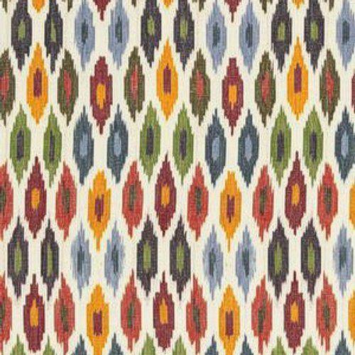 Schumacher Sunara Ikat Spice Fabric