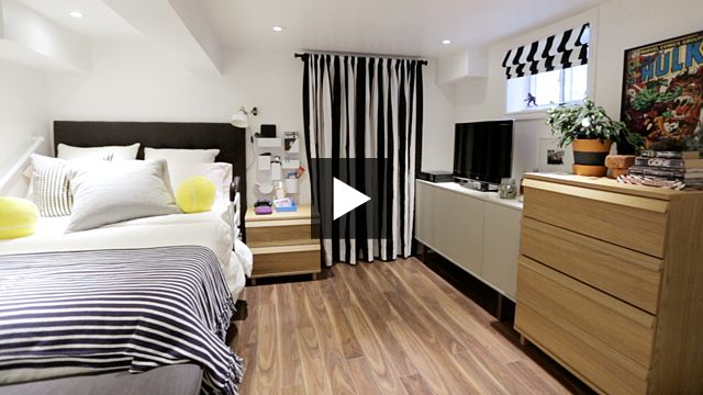 How To Turn Your Basement Into A Bright Bedroom With Images