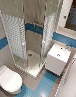 D co salle de bain petit espace sdb pinterest salle salle de bain et deco salle de bain for Amenagement salle de bain petit espace