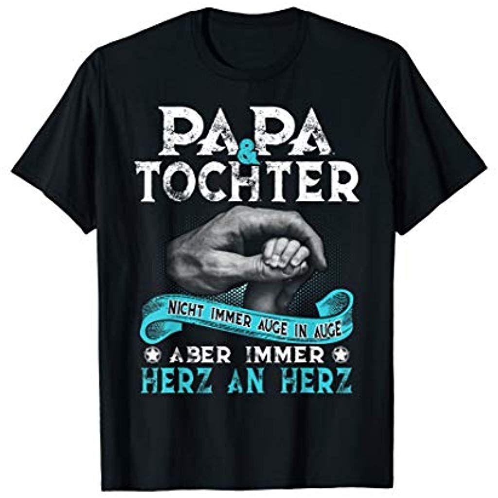 Papa Und Tochter T Shirt Partnerlook Vater Vatertag Geschenk Bekleidung Damen Kleider Cocktail Sport Freizeit Fitness Bekleidung Dam Fashion In 2019
