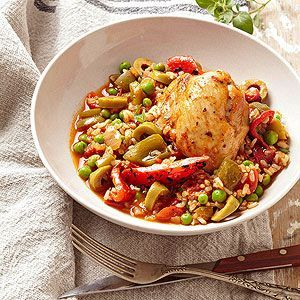 Arroz Con Pollo From Better Homes and Gardens, ideas and improvement projects for your home and garden plus recipes and entertaining ideas.From Better Homes and Gardens, ideas and improvement projects for your home and garden plus recipes and entertaining ideas.