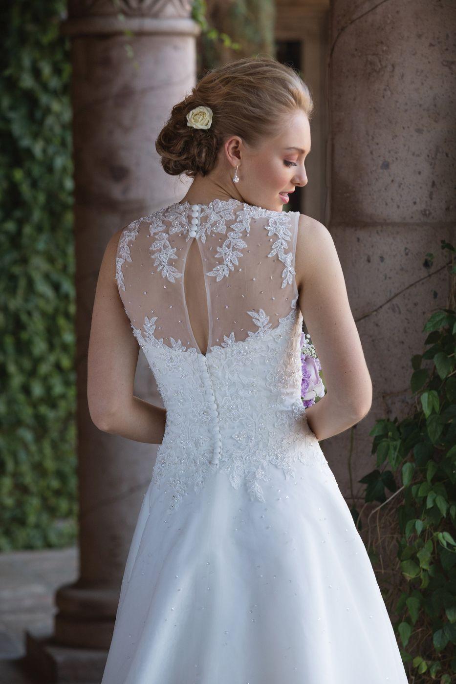 Rückenansicht Brautkleid #Sincerity | Brautkleider - Wedding Dresses ...
