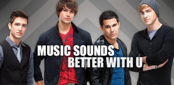 Music Sounds Better With Btr Big Time Rush Big Time Carlos Pena Jr