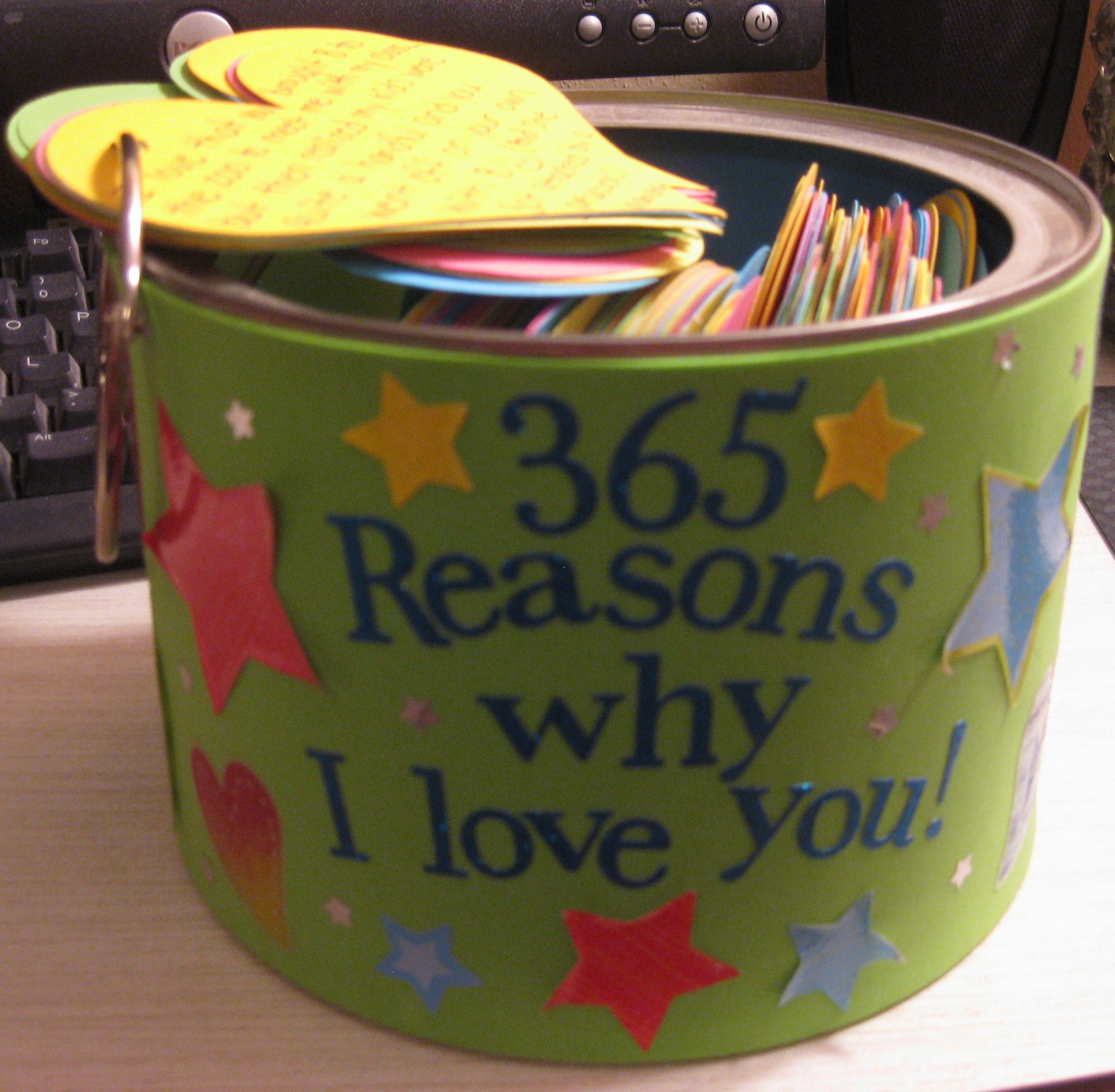 365 Reasons Why I Love You An Amazing Gift To Give To The