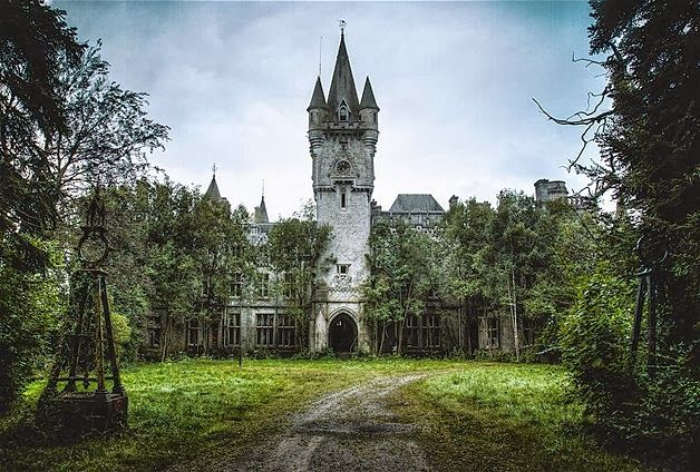 Abandoned Belgium  | ... known as Noisy Castle, in Celles, Belgium. It was abandoned in 1991