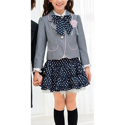 [Cecile] 5-Piece Set Suit for Girls / Spring 2015 New Item for Kids