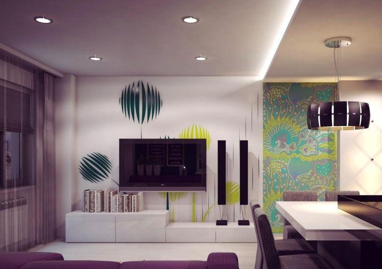Palette De Couleur Salon Moderne- Froide, Chaude Ou Neutre?   Living