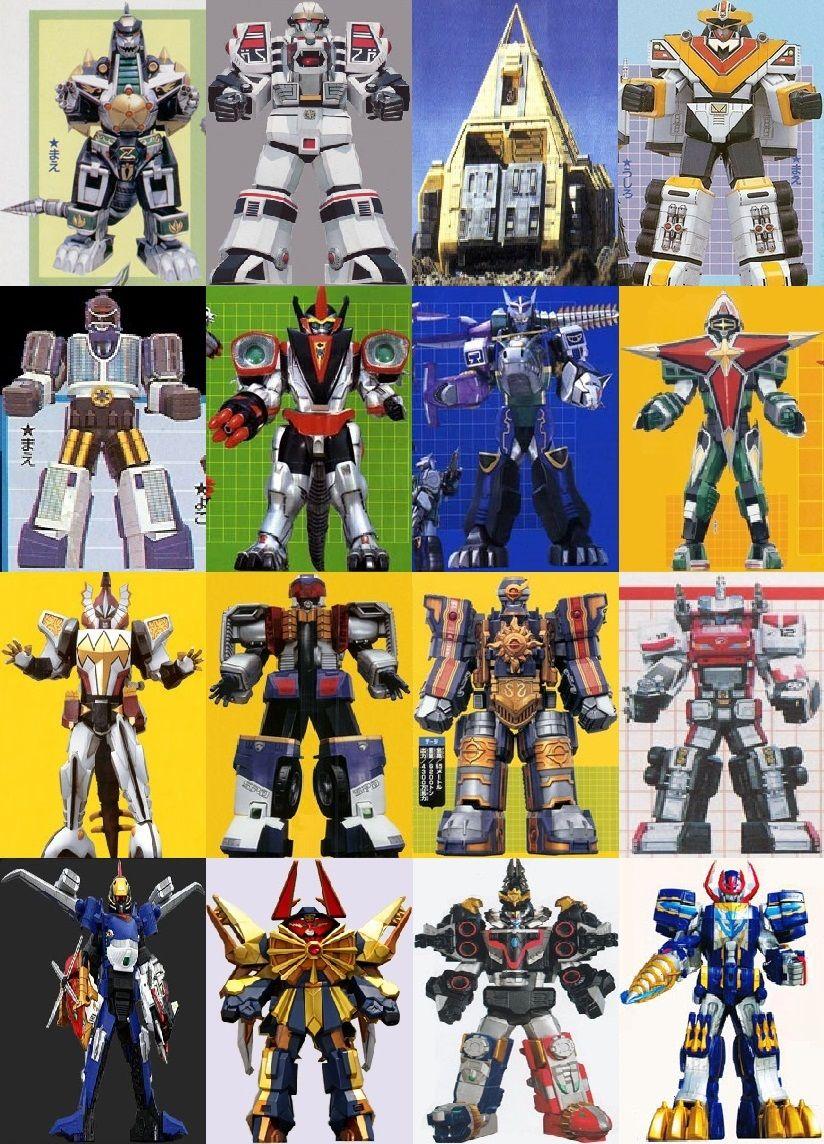6th Ranger Megazords Of Power Rangers 20 By