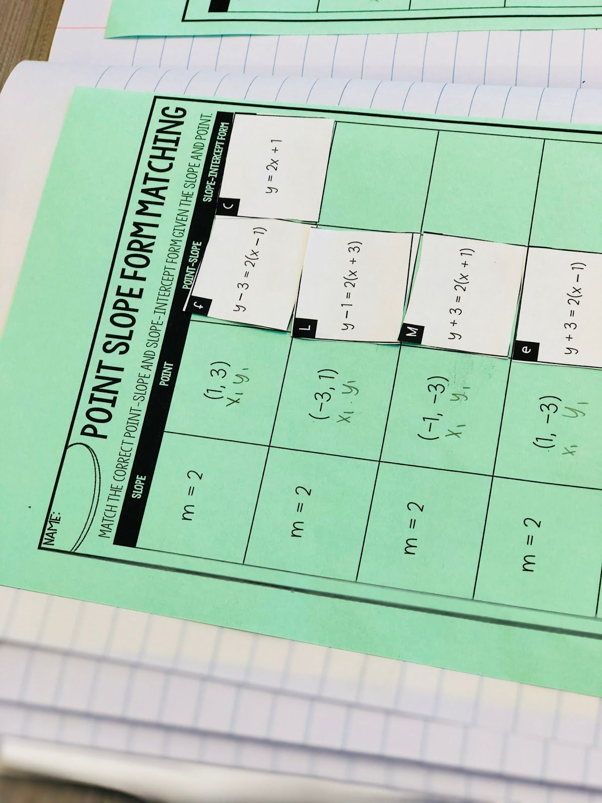 A blog about free resources for the secondary math classroom. | Math ...